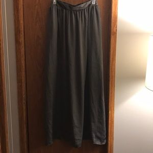 NWT Plus Size Charcoal Maxi Skirt Forever 21